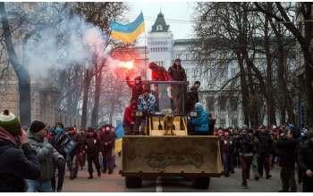 Штурм Администрации Президента в Киеве 1 декабря