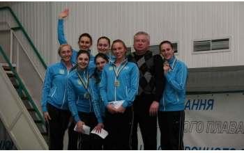 Харьковские синхронистки стали победительницами открытого чемпионата Украины по синхронному плаванию