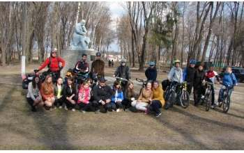 Харьковчане посвятили велопоход Тарасу Шевченко