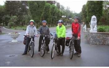 Харьковчане проехали на велосипедах по шевченковским местам