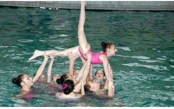 Детский чемпионат по синхронному плаванью
