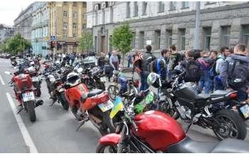 Мото-пикет в Харькове