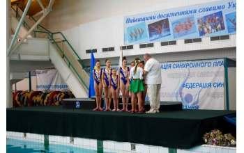 Харьковские синхронистки победили в Чемпионате Украины