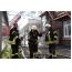 Масштабный пожар в центре Харькова